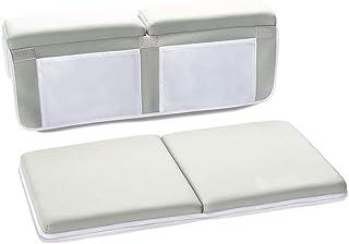 Exceart 浴室のひざまずくおよび肘の残りのパッドのシャワーのひざ掛け