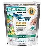 Thetford Aqua-KEM Garden Mist Toss-Ins RV Holding Tank Treatment - Deodorant/Waste Digester/Detergent - Pack of 16 96562