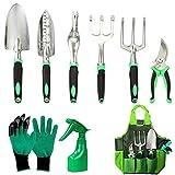 Outils de Jardinage, Kit Jardinage Accessoire en Têtes Aluminium et...