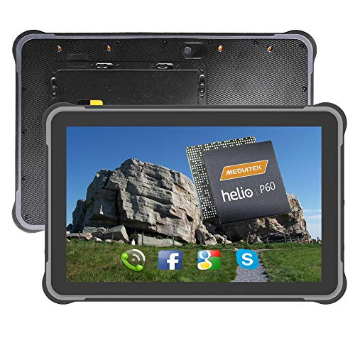 10.1 Inch Android 9.0 RAM 4GB ROM 64GB Rugged Tablet