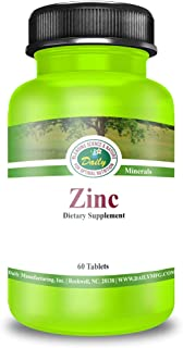 Daily Nutrition   Zinc   30mg   60 Tablets
