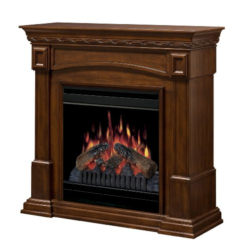DIMPLEX CFP3920BW 20-Inch Electric Fireplace, Burnished Walnut