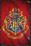 Close Up Harry Potter Poster - Hogwarts Flag (61x 91,5cm)