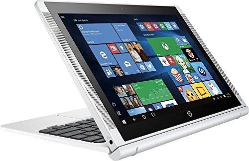 HP Pavilion x2 Detachable 2-in-1 Laptop Tablet,10.1? HD IPS Touchscreen Intel Quad-Core Atom x5-Z8350, 32GB eMMC SSD, 2GB RAM, 802.11ac, Wifi, Bluetooth, Windows 10-Silver