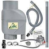 Llenado de y extracción de Juego de filtro T33 gris Extracción gris