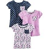 Amazon Brand - Spotted Zebra Little Girls'...