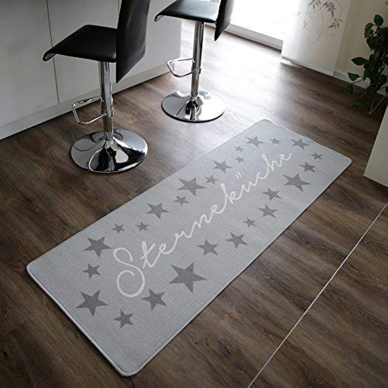 Topanbieter999 Küchenläufer Küchenläufer Küchenläufer Sterneküche hellgrau 180 x 67 cm B075R1TSP8 ecda17