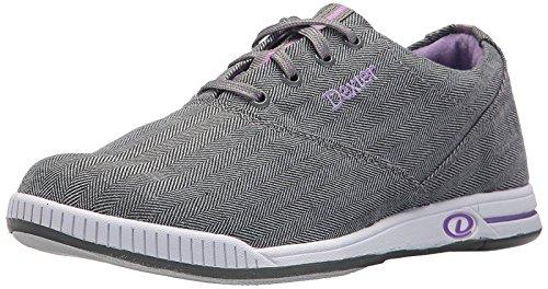 Dexter Kerrie Damen-Bowling-Schuhe Größe 36-41 in Grau Lavendell Größe 37