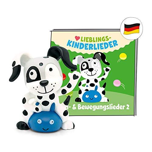 tonies Hörfiguren für die Toniebox - 20 Lieblings-Kinderlieder - Spiel- und Bewegungslieder 2 - ab 3 Jahren ca. 50 Minuten - Deutsch