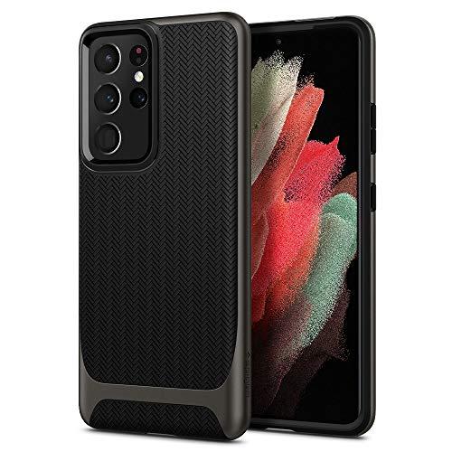 Spigen Neo Hybrid Designed for Galaxy S21 Ultra Case (2021) - Gunmetal