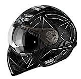 Airoh Casco para motociclista, color Negro Mate (Command), talla 54-XS
