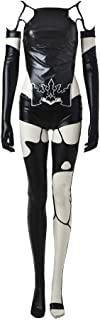 Cosonsen Game NieR Automata Yorha No. 9 Type S 9S Black Cosplay Costume Women L Size