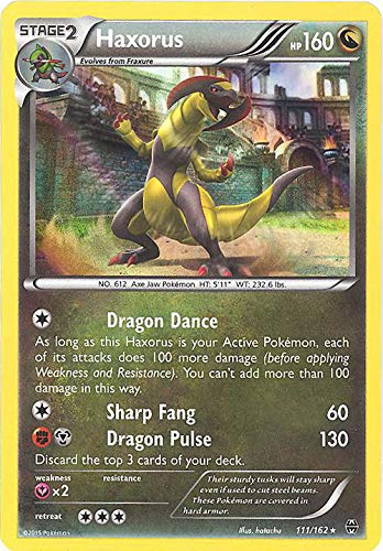 Pokemon - Haxorus (111/162) - XY Breakthrough - Holo