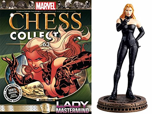 Eaglemoss Marvel Chess Figurine Collection Nº 63 Mastermind