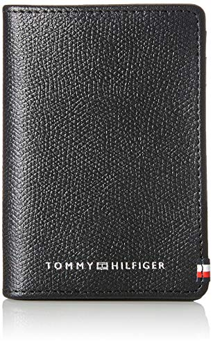 Tommy Hilfiger Business CARDHOLDER, Piccola Pelletteria Uomo, Nero, One Size