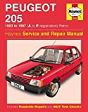 Peugeot 205 Petrol (83 - 97) Haynes Repair Manual (Haynes Service and Repair Manuals)