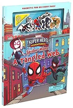 Marvel s Super Hero Adventures Spider-Man  A Tangled Web  Magnetic Hardcover