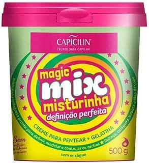 Linha Magic Mix Misturinha Capicilin - Creme de Pentear Definicao Perfeita 500 Gr - (Capicilin Magic Mix Collection - Perfect Definition Combing Cream Net 17.63 Oz)