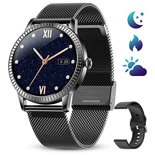 GOKOO Relojs Inteligente Mujer Smartwatch Deportivo Fitness Monitores Actividad Pulsera Actividad Inteligente...