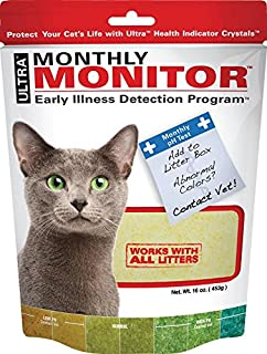 Ultra Cat Health Monthly Monitor Crystal, 16oz