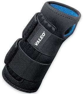 Valeo VI4665XL Heavy-Duty Double Wrap Wrist Support, XL, Black