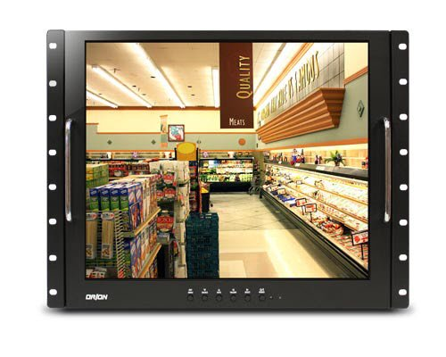 Orion Images Corp 19RCR 19-Inch Rackmount Ready LCD Monitor (Black)