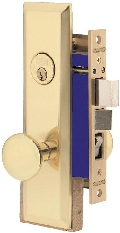 Mortise Lock Entry Lockset Deadbolt for Residential Commercial Backset 2-1/2