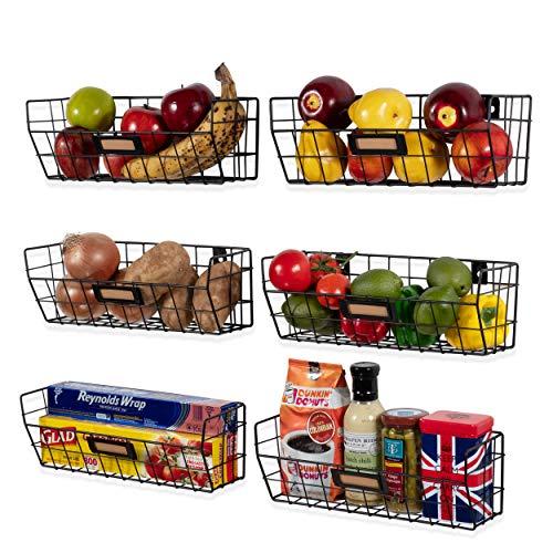 wire basket kitchen organizer - 5