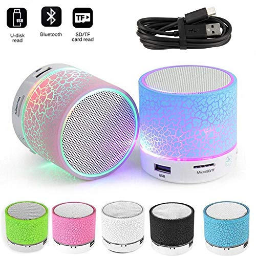Music World EASYSHOPEE S10 Mini Wireless Portable Plastic Bluetooth Speakers with TF Card Hi-fi MP3 Music Player Subwoofer Home Audio...