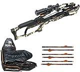 RAVIN R20 Sniper Crossbow Package, Predator Camo, Crossbow Case, 6 Additional Arrows