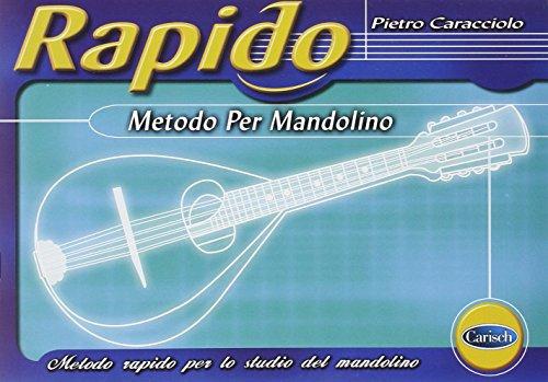 Rapido - Metodo Per Mandolino Livre Sur la Musique
