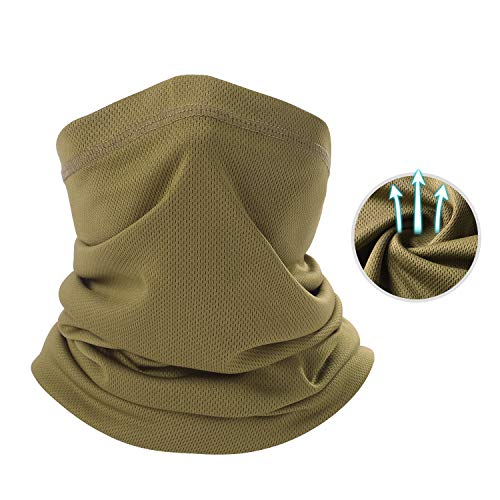 THINDUST Summer Face Mask - Sun Protection Neck Gaiter for Outdoor Activities