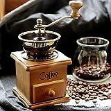 AstrryfarionClassical Professional Haushaltsmühle aus Holz, manuelle Kaffeemühle – Kaffee