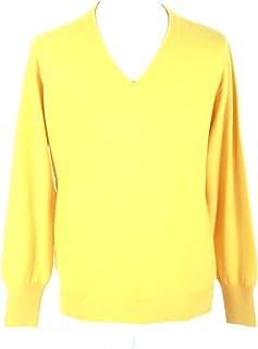 Men's V Neck Cashmere Sweater