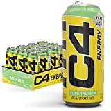 C4 Original Sugar Free Energy Drink | Sour Batch Bros | Pre Workout Performance Drink with No Artificial Colors or Dyes,16 Fl Oz (Pack of 12)