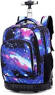 comprar comparacion Tethysun mochila con ruedas, 19 pulgadas, multifunción, mochila para adolescentes y bolsa de almuerzo, para portátil, viaj...