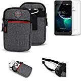 K-S-Trade® Gürtel-Tasche Für -Blackview E7- Handy-Tasche