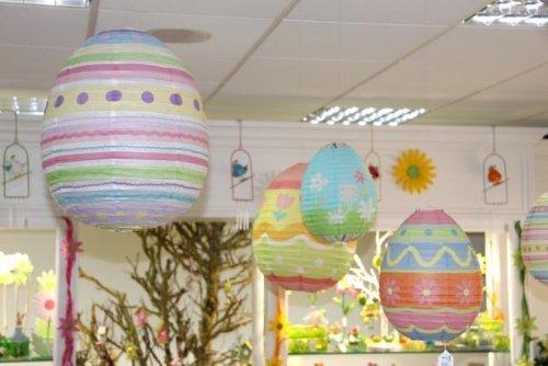 papier pendant œuf Easter decoration - PETIT