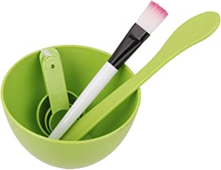 MagiDeal 4 In 1 DIY Beauty Facial Mask Mixing Bowl Brush Spoon Stick Set Face Care