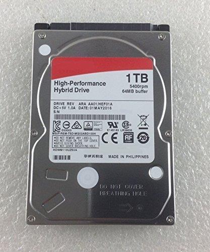 Toshiba Satellite C75 A 14c SSHD HDD 1TB SOLID S Festplatte 1TB SATA 2.5 Neu