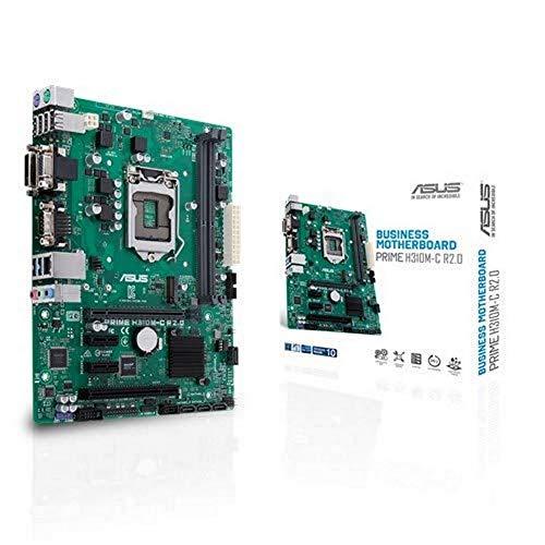 ASUS PRIME H310M-C R2.0 Mainboard Sockel Intel 1151 (Micro-ATX, Intel H310, 2x DDR4-Speicher, USB 3.1)