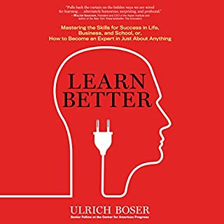 Page de couverture de Learn Better