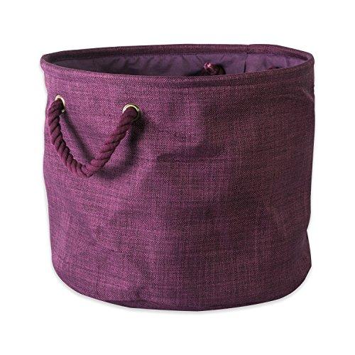 purple canvas basket - 3