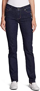 Eddie Bauer Women's StayShape Straight Leg Jeans - Slightly Curvy