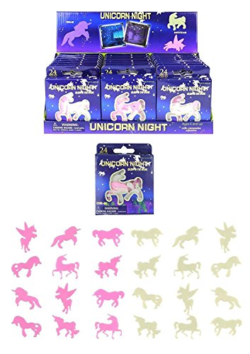 Henbrandt unicornio noche brilla en la oscuridad pegatinas