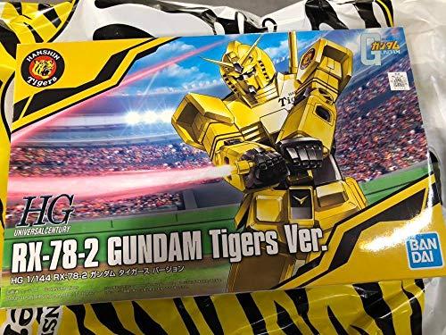 HG 1/144 RX-78-2 ガンダム タイガースVer. 阪神タイガース ガンプラ プラモデル 機動戦士ガンダム40周年記念