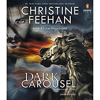 Dark Carousel     A Carpathian Novel, Book 30              By:                                                                                                                                 Christine Feehan                               Narrated by:                                                                                                                                 Jim Frangione                      Length: 14 hrs and 14 mins     912 ratings     Overall 4.6