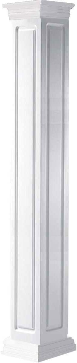 Ekena Millwork CC1208ENRPRPR Column quality assurance White 55% OFF