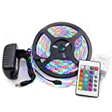 KIODS LED Tira SMD 5050 Led Strip Light IR 24 Key DC 12V RGB Lights Tape Impermeable Led Light Party Neon 5 Metros 300Leds / Roll 5M 10M Set