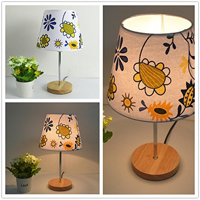 Einfach modern wooden stoff holz lampenlicht warm kinder schlafzimmer mit lampe,unschuld,dimmer wechseln B072MGW71P  | Verbraucher zuerst